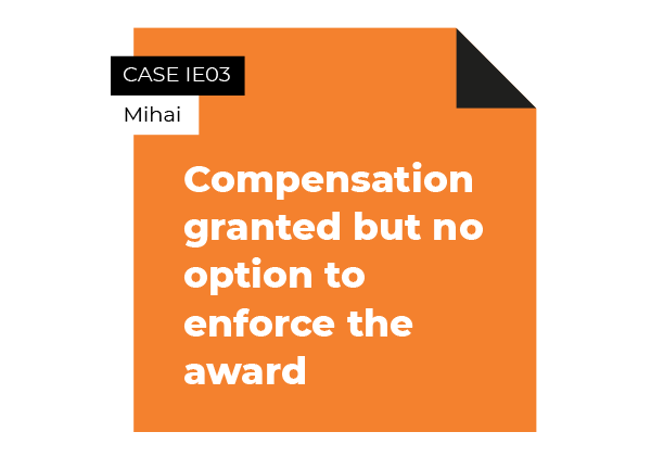 case compensation granted